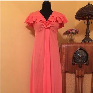 1970 prom dress